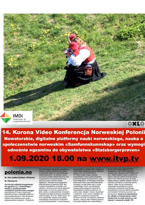 14. Korona Video Konferencja Norweskiej Polonii.