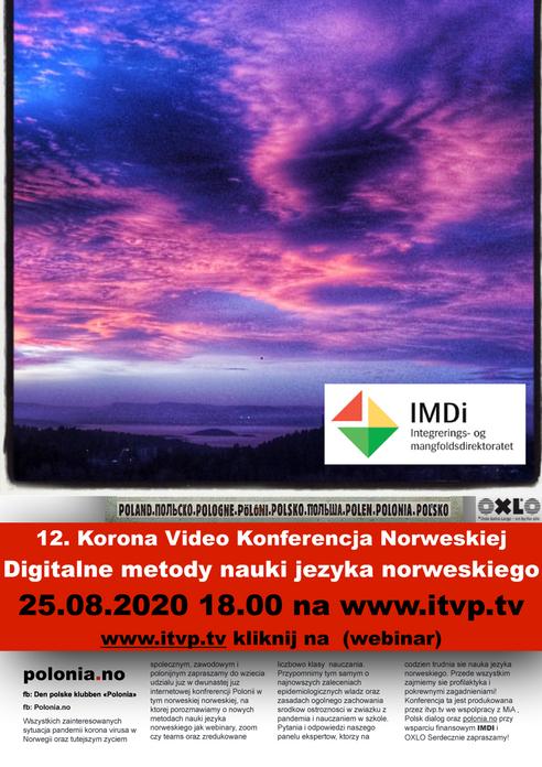 12. Korona Video Konferencja Norweskiej Polonii.