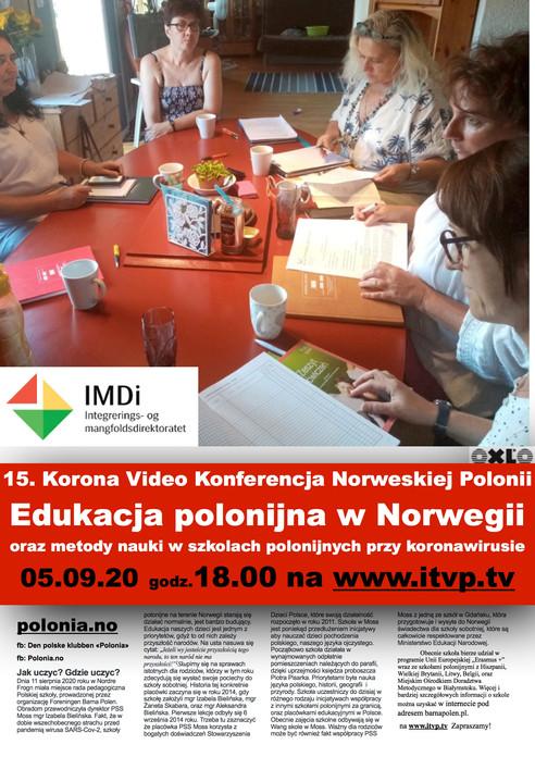 15 Korona Wideo Konferencja Norweskiej Polonii - Jak uczyć? Gdzie uczyć?