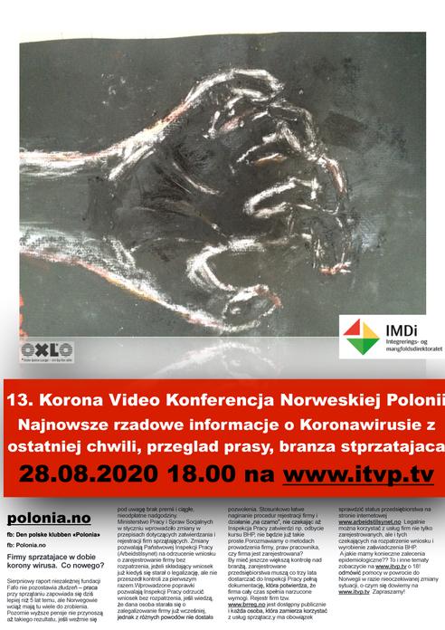 13. Korona Video Konferencja Norweskiej Polonii.