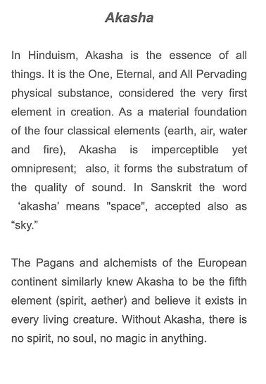 about akasha