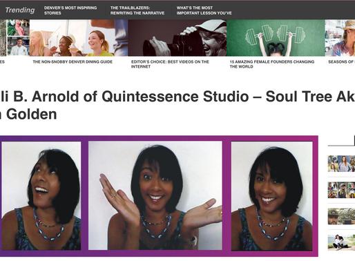 Voyage Denver Meets Anjali B. Arnold of Quintessence Studio – Soul Tree Akashic Healing in Golden