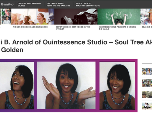 Voyage Denver Meets Anjali B. Arnold of Quintessence Studio – Soul Tree Akashic Healing in Golden