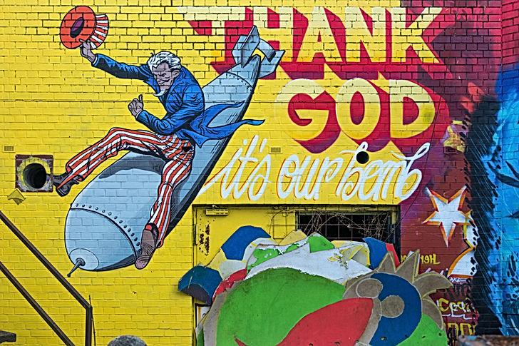 Uncle Sam Graffiti