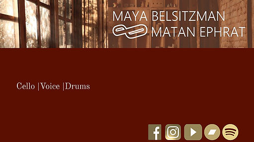 Maya Belsitzman & Matan Ephrat presskit