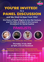 Poestry Flyer - Panel Discussion.09JUL20