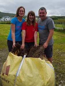 Sunnyside Croft Touring and Camping Site donate fleeces