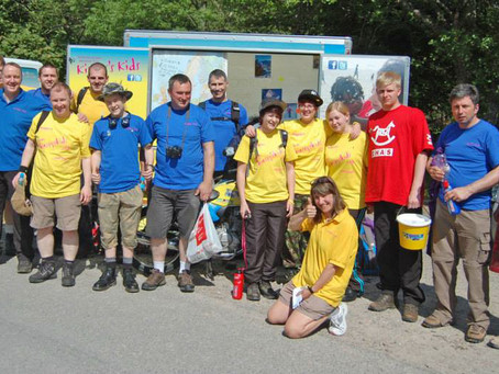 8 June 2013 - Ben Nevis Charity Walk
