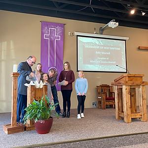 Edin Morrell Baptism