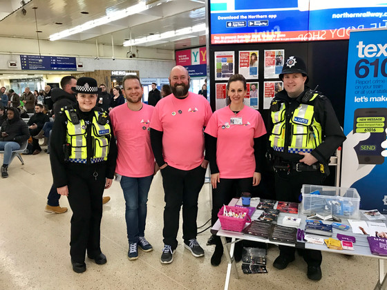 Angels support for Sparkle Friendly Trains
