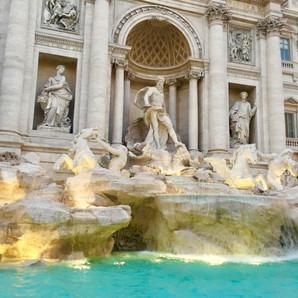 Rome, Italy (Trevi Fountain)