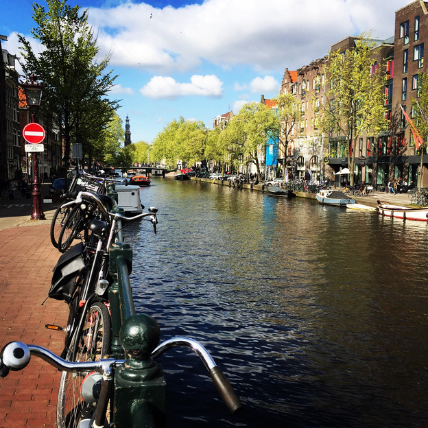 Amsterdam (Prinsengracht Canal)