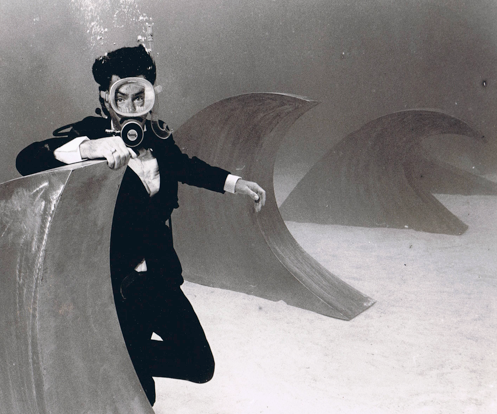 Power Studios beneath the sea.  Circa May 1985
