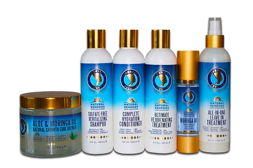 Moringa Oil & Natural Extract Collection