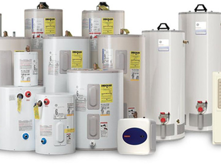 Inspector's Notes: September 2018 - Water Heater Size