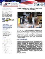Industrial Hygiene Indoor Air Quality_Ca