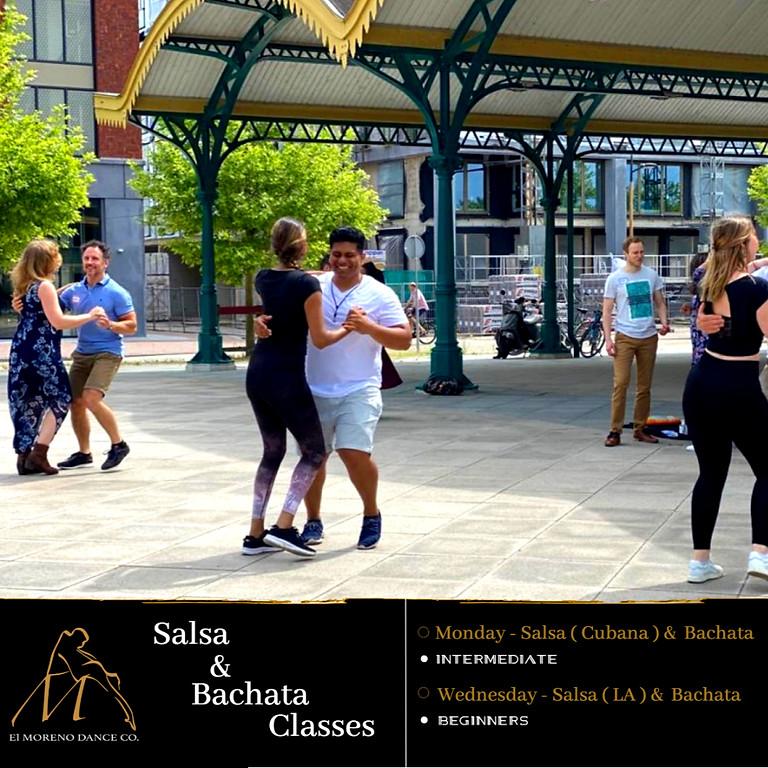 Salsa & Bachata Intermediate Trial Class