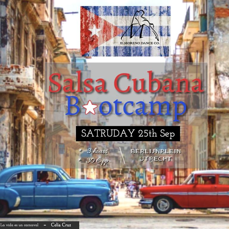 Salsa cubana bootcamp  25th Sep