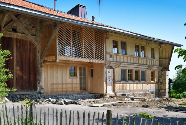 Rénovation à Villargiroud