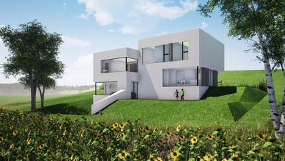 Villa individuelle avec studio à Châtillon