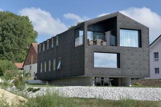 Villa individuelle avec atelier de graphiste à Morens