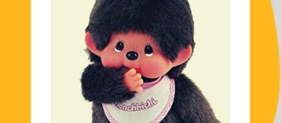 Monchhichi, la scimmietta must have degli anni '80