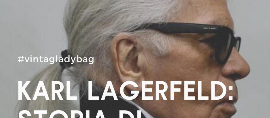 KARL LAGERFELD: Storia di un'icona