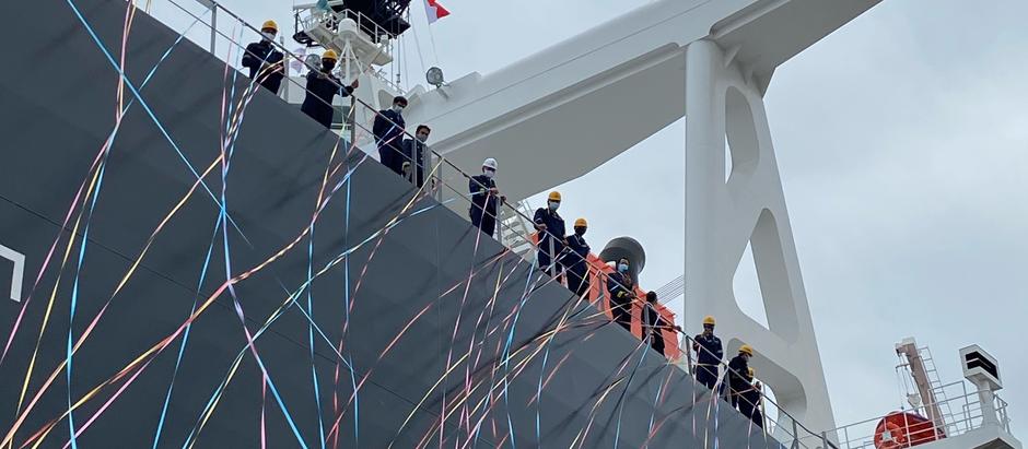 MV. Azul Costa 竣工