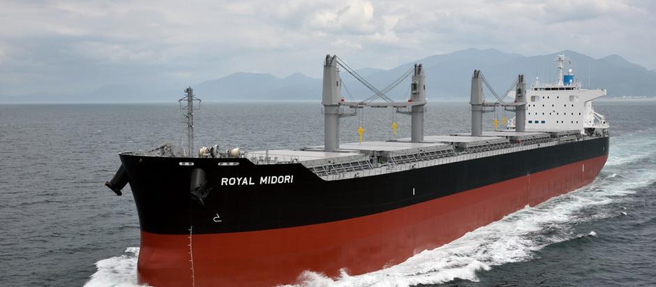 MV. Royal Midori 竣工