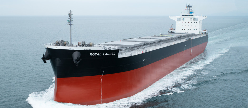 MV. Royal Laurel 竣工