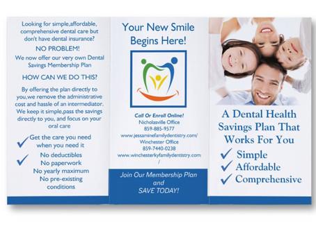 New Dental Savings Plan