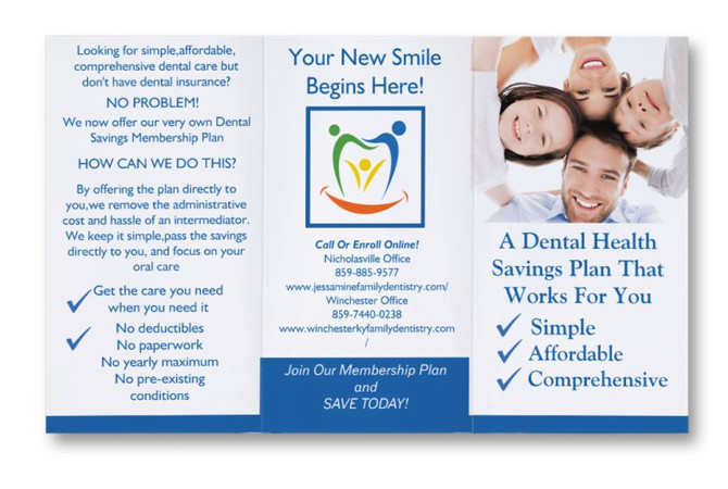 New Dental Savings Plan