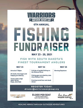 Warriors Never Give Up Fishing Fundraise