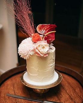 The Sweet Society Co. Textured buttercream wedding cake