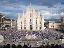 Inter campione d'Italia:-video- 30 mila persone in strada,assembramento in piazza duomo