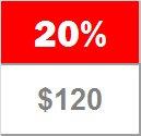 20% - 6 to 12 pairs