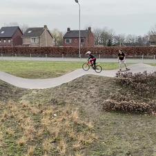 BMX op pumptrack