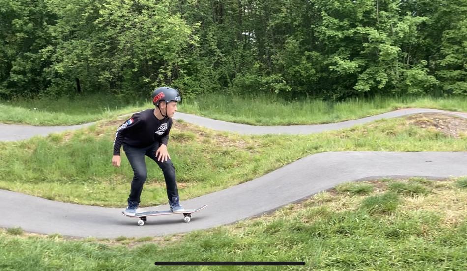 Riden op je board