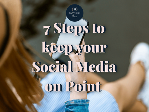 Is your social media on point to propel you into success?