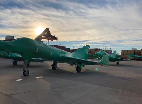 Discharge of Aircraft // Descarga de aviones