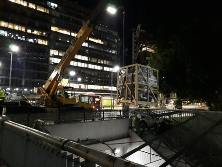 Subway Line E - Mechanic Stairs