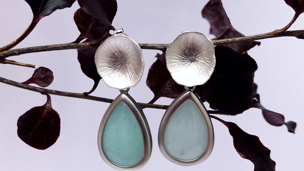 Drops Amazonite Earrings