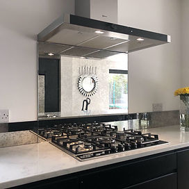 Toughened Antique Mirror Splashbacks