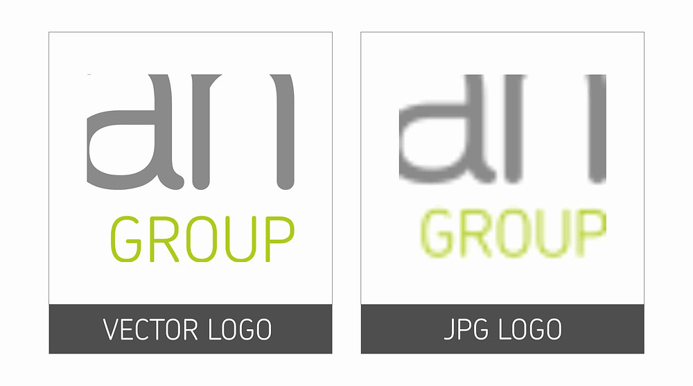 difference between a vector and jpg logo