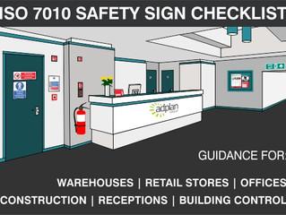 SAFETY SIGN CHECKLIST