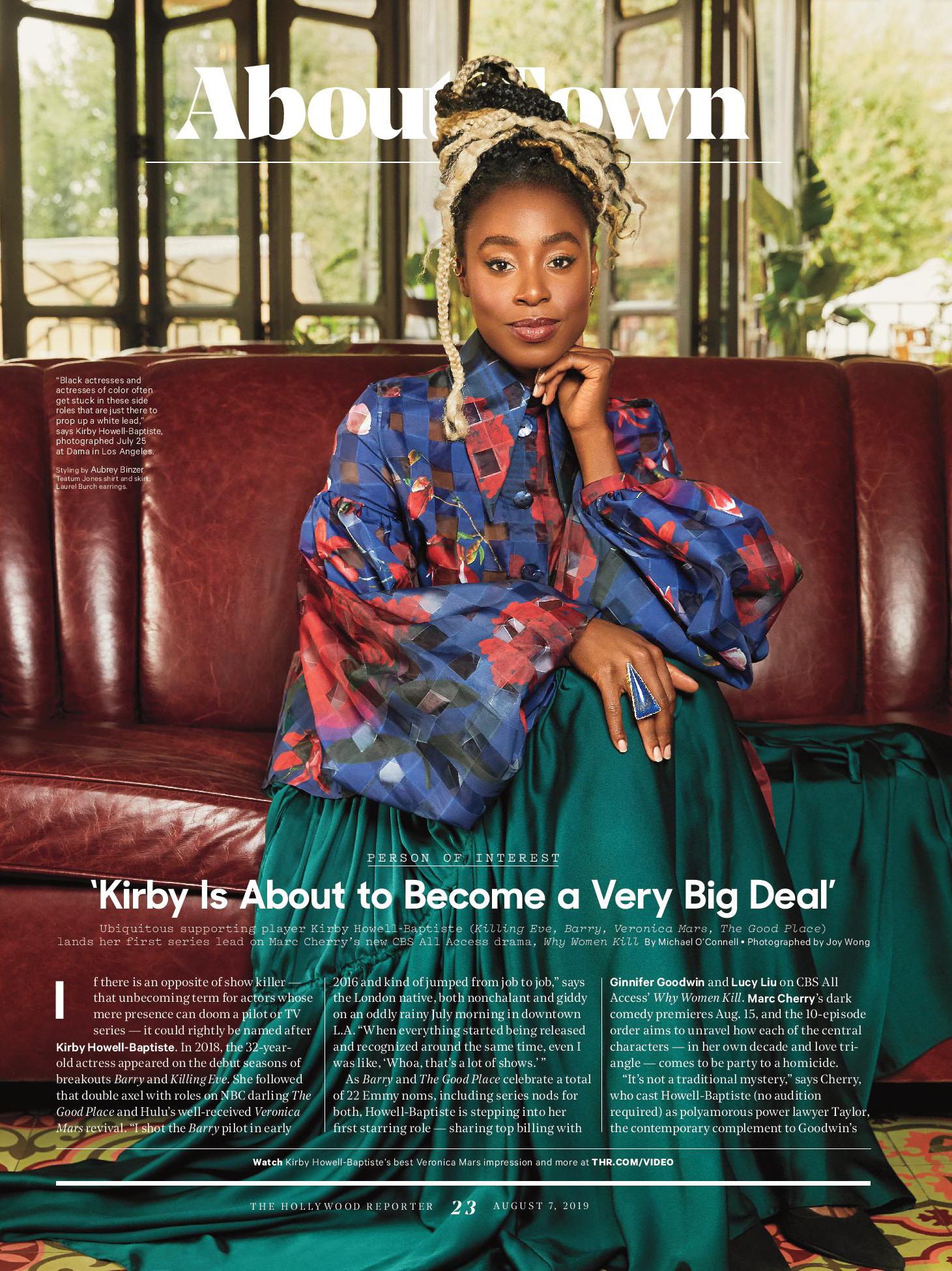 Kirby Howell-Baptiste for Hollywood Repo