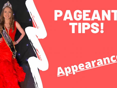 Pageant tips - Appearances