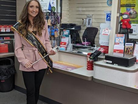 Post Office Visit!