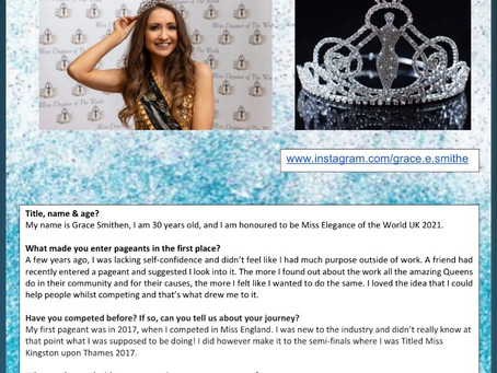 Crowns & Sashes Article