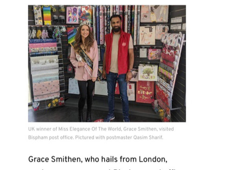 Blackpool Gazette Feature!